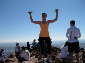 One of my goals - climbing Camelback!