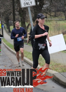 Exhibit A - Winter Warmup 6k - I actually came in 2nd for Masters - why the long face?